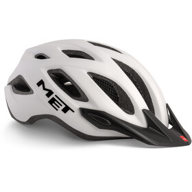 MET Crossover Bike Helmet white